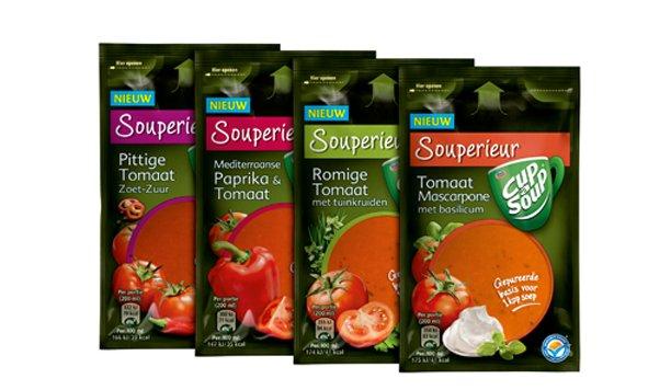 Cup-a-Soup introduceert: Cup-a-Soup Souperieur! Proef het nu!