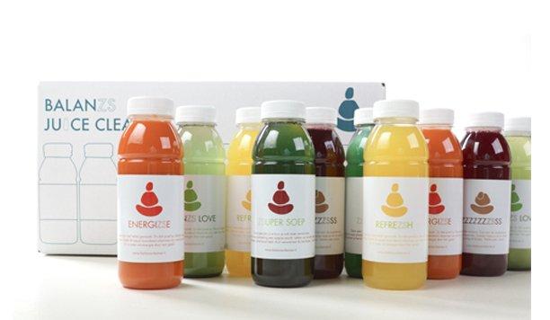 Heeft jouw lichaam een grote schoonmaak nodig? Test nu Balanzs Juice Cleanse!