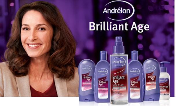 Andrélon Brilliant Age Shine & Care Volume Spray laat je haar dansen!