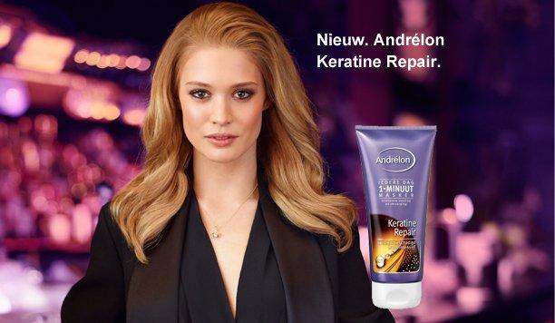 Andrélon Keratine Repair 1-minuut masker: op een snelle manier naar gezond glanzend haar