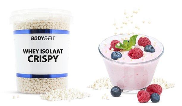 Whey Isolaat Crispy: knapperige eiwitbommetjes!