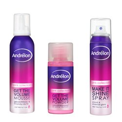 Fashionista's testpanel Andrélon Styling Pink Collection