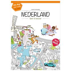 Winactie: XXL speel- & kleurplaat van Nederland