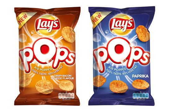 Lay's Pops, test deze heerlijke nieuwe chips variant!