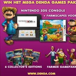 Win een Nintendo 3DS + Mega Spellenpakket
