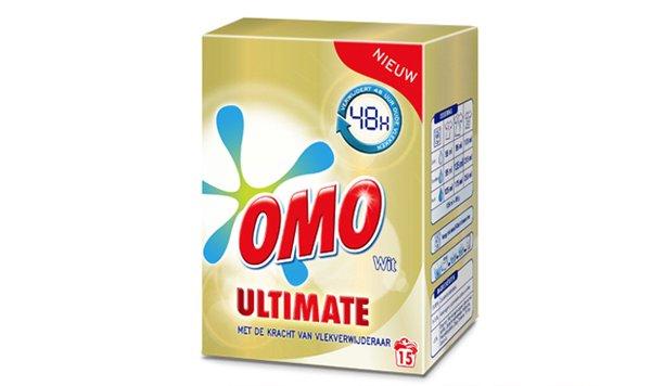 Stralend Wit met Omo Ultimate
