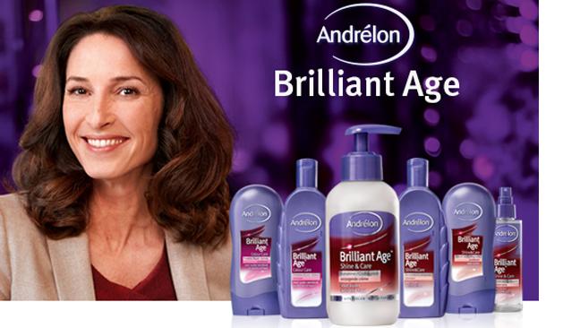 Andrélon Brilliant Age Shine & Care Verzorgende Crème laat je stralen