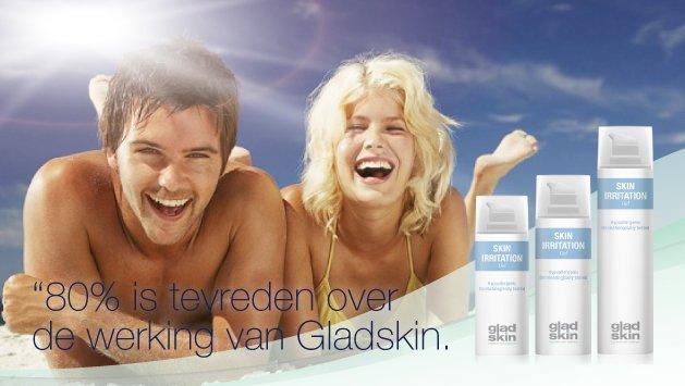 Gladskin Skin Irritation, voor een gladde huid zonder irritatie