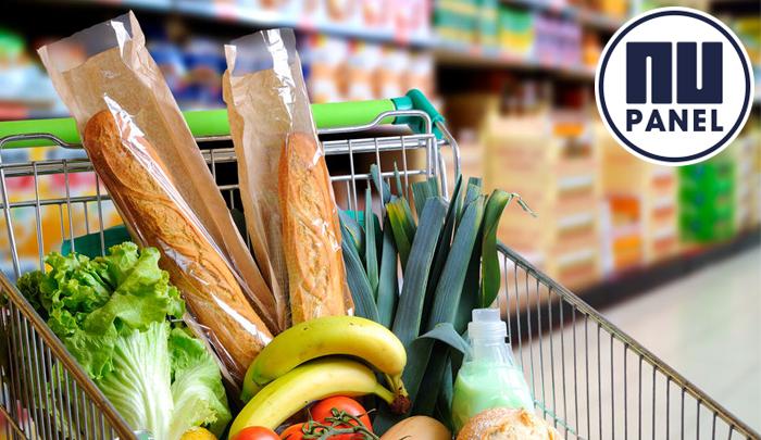 NUpanel resutlaten: 78% doet boodschappen in een fysieke supermarkt