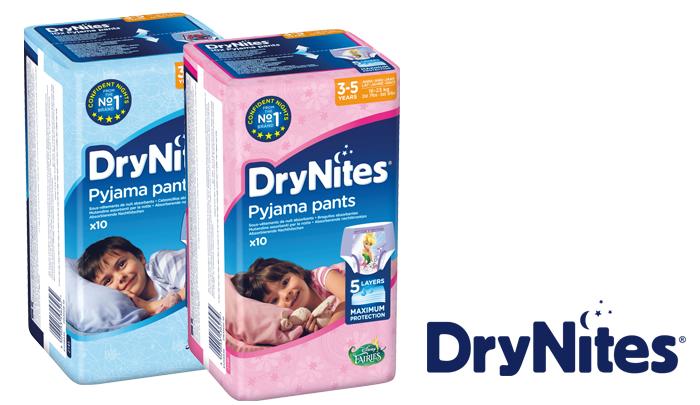 Testresultaten: DryNites