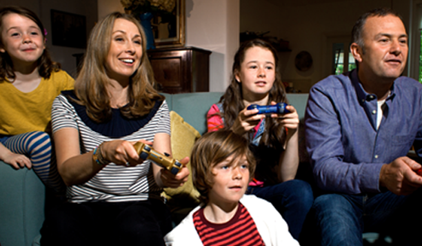 Gamen is echt een gezinsding!