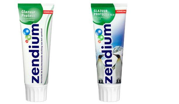 Test nu gratis Zendium Glazuur Protect tandpasta