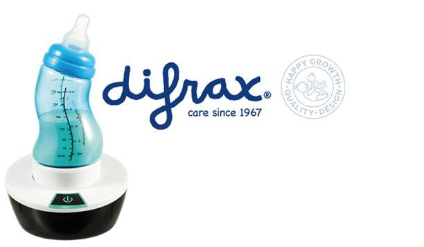 De Difrax S-flesverwarmer zorgt altijd en overal voor melk op de juiste temperatuur. Geef je op voor de test!