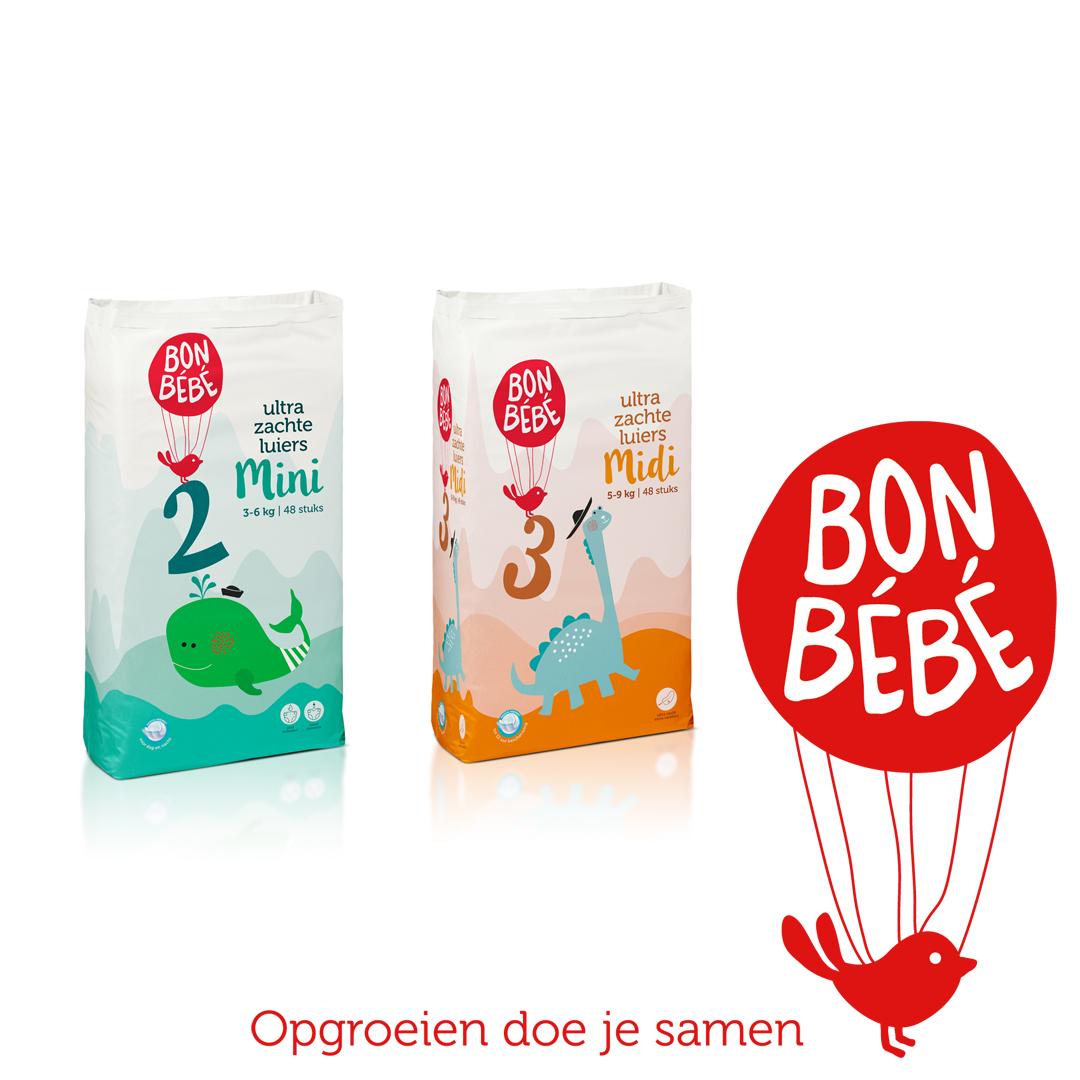 Test jij samen met jouw kindje Bonbébé luiers?