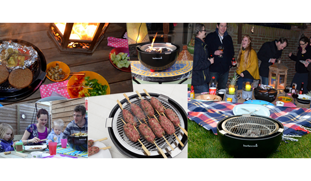 Joya tafelbarbecue: mooi vuurtje, rokerige aroma's en gezelligheid, het hele jaar door!