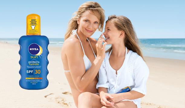 Testresultaten: NIVEA SUN Hydrate & Protect Spray beschermt je huid en kleding