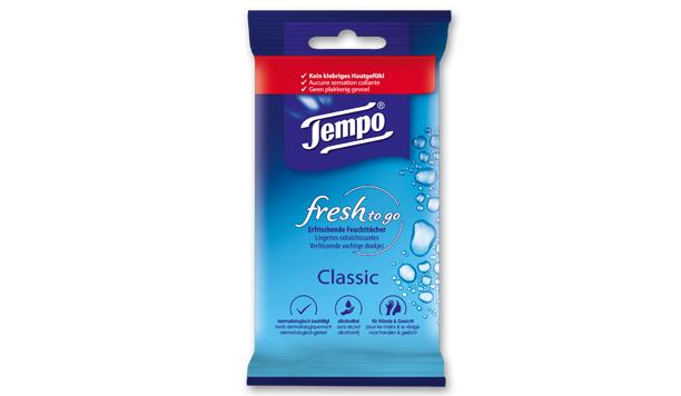 Testresultaten: Tempo fresh to go; altijd een fris gevoel