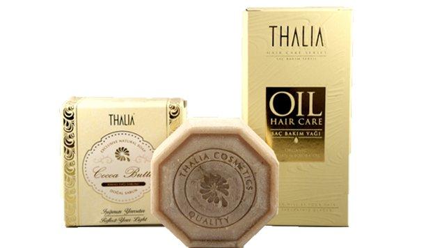 Win één van de 75 pakketten Thalia haarverzorgingsolie en Argan Zeep t.w.v. €24,90