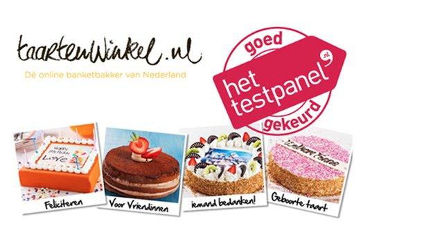 Altijd wel een excuus voor een taart van taartenwinkel.nl