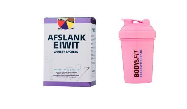 Nieuw in hettestpanel:Afslank eiwit van Bodyenfitshop.nl