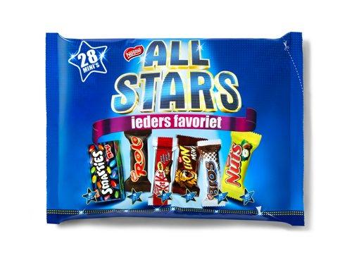 Win vandaag 100x Nestlé ALL STARS!