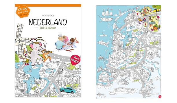 Winactie Xxl Speel Kleurplaat Van Nederland Hettestpanel Nl