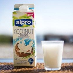 Alpro Kokosnootdrink: test deze tropische verrassing!