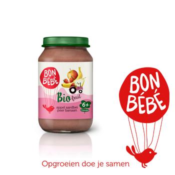 Testpanel Bonbébé biologische fruitpotjes
