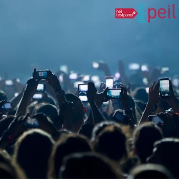 Stelling van de week: mobiel bij concerten