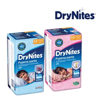 Test jij samen met jouw kindje DryNites?