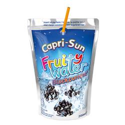 Testresultaten Capri-Sun Fruity Water Blackcurrant: Verfrissend, dorstlessend en … lekker!