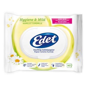 Resultaten testpanel Edet Vochtig toiletpapier