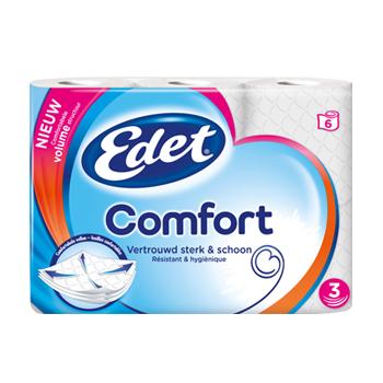 Testresultaten: Edet Comfort