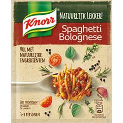 Testresultaten: Knorr Natuurlijk Lekker Maaltijdmix Spaghetti Bolognese