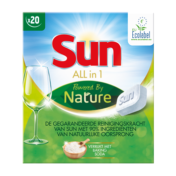 Test de nieuwe Sun All-in-1 Powered by Nature!