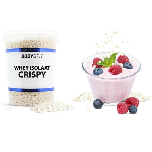 Test nu: Whey Isolaat Crispy van Body & Fit