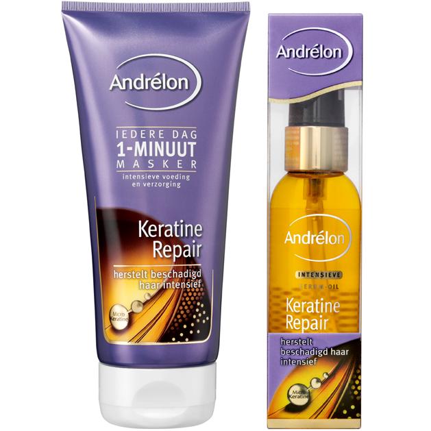 Je haar mag gezien worden met Andrélon Keratine Repair. Test nu één van de producten uit deze nieuwe lijn!