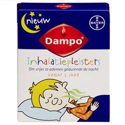 Dampo Inhalatiepleisters getest: aanbevolen door 9 van de 10 moeders!