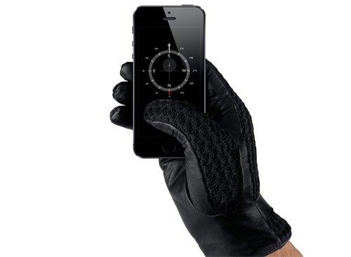 Win Leather Crochet Touchscreen Gloves t.w.v. €89,95