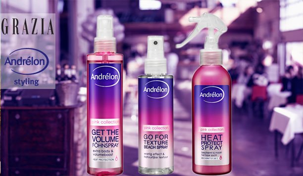 Andrélon Pink Collection getest: turn up the volume!