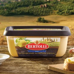 Broodje Bertolli met Roomboter en Olijfolie is verrukkelijk
