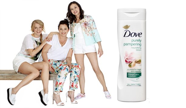Dove Pistache & Magnolia bodylotion is pure verwennerij