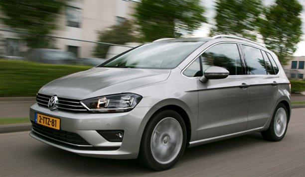 Volkswagen Golf Sportsvan komt zeer goed uit de test!