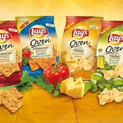 Lay's Oven Crunchy Biscuits en Lay's Oven Crispy Thins: kraak en smaak
